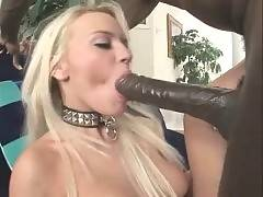 Winsome babe with skilful mouth likes her job