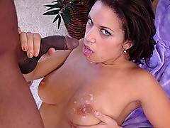 Interracial videos cumshot