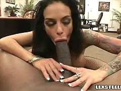 Angelina Valentine Doing Interracial with a Big Dick
