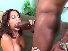 Mommy And Daughter Share Big Black Dick 3