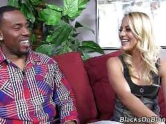 blacks on blondes - Cameron Canada