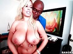 Hot Slut Bridgette B Starves For Big Black Cock 1
