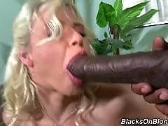 blacks on blondes - Annika Albrite