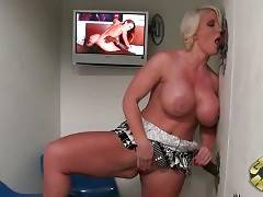 Bitchy milf doesn`t want her husband to interrupt her fucking black dude with his phone calls.