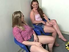 Fascinating Vicky Vixen and Emily Eve want to have fun