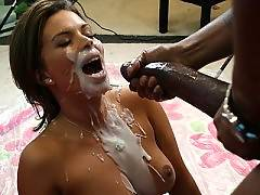 Busty Bailey Brookes gets fucked by an insane black cock