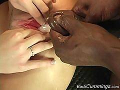Barb Cummings - Double Creampie!