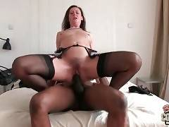 Charlie fingers Lara`s craving pussy and licks her sensitive butt hole.