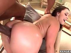 This bitch likes to have gang bang in doggy style pose