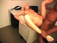 Mia Bangg and Sylvio Mata. White Wife Black Cocks
