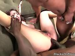 Sluty Japanese Babe Gets To Big Black Dicks 3
