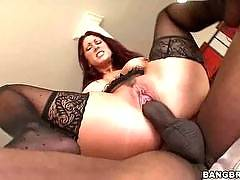 Tiffany Mynx sucks on a