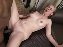 Tiffany Kohl is fond of getting her pussy drilled by massive black cock.