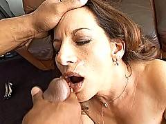Hot MILF slammed with black dick. Melissa Monet