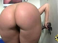 Slut with big butt is preparing her ass for bang