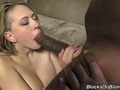 blacks on blondes - Kagney Linn Karter