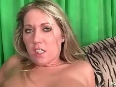 Bitch with shaved kitty